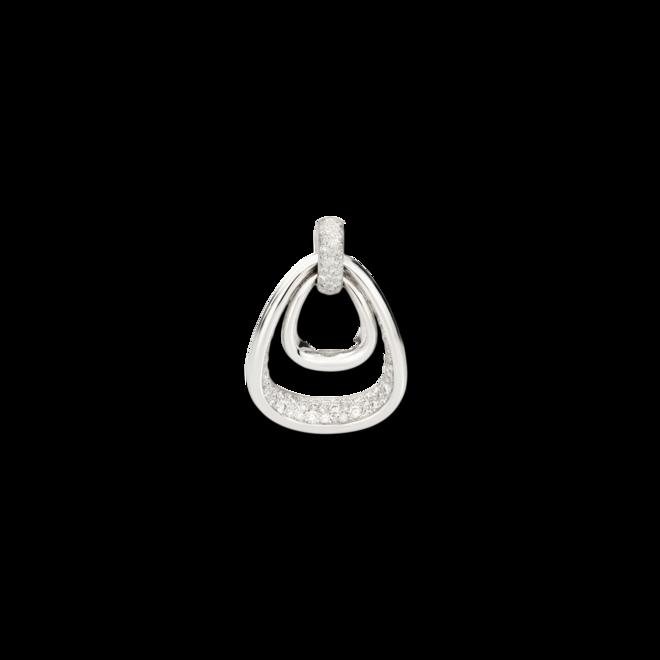 Anhänger Pomellato Fantina aus 750 Weißgold mit 150 Diamanten (1,9 Karat) bei Brogle