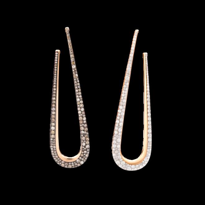 Ohrhänger Pomellato Fantina aus 750 Roségold mit 284 Diamanten (2 x 1,33 Karat) bei Brogle