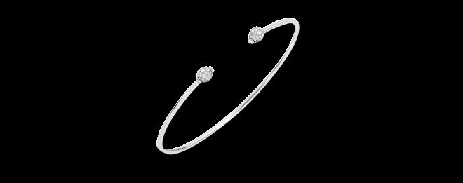 Armreif Pomellato M'ama non M'ama aus 750 Weißgold mit 36 Diamanten (0,24 Karat) Größe S bei Brogle