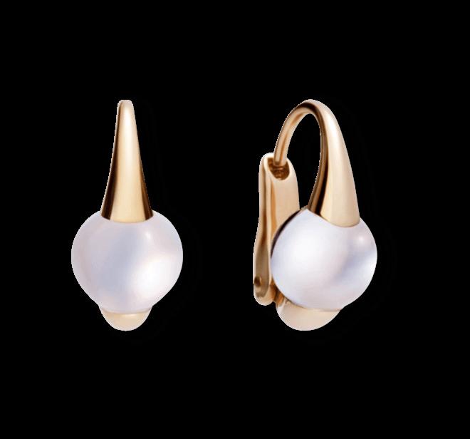 Ohrring Pomellato M´ama non M´ama aus 750 Roségold mit 1 Mondstein