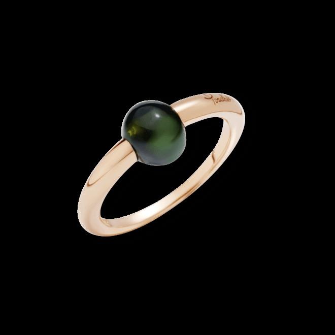 Ring Pomellato M´ama non M´ama aus 750 Roségold mit 1 Turmalin