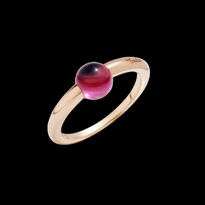 Ring Pomellato M´ama non M´ama aus 750 Roségold mit 1 Rhodolit