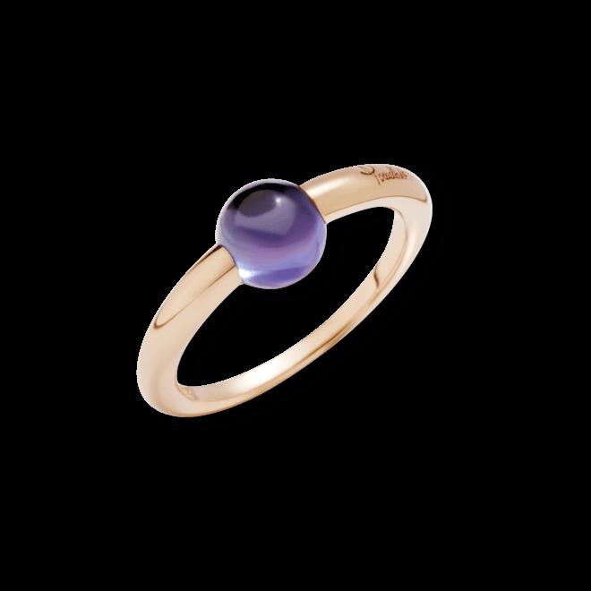 Ring Pomellato M´ama non M´ama aus 750 Roségold mit 1 Iolith