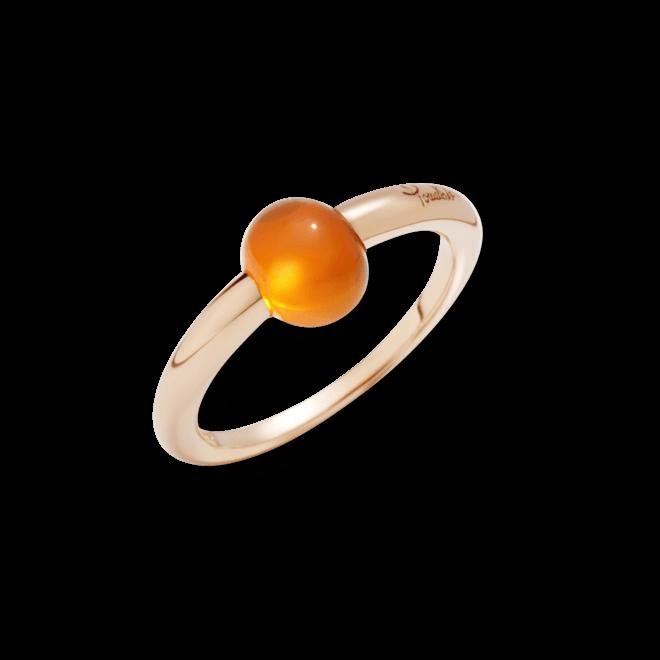 Ring Pomellato M'ama non M'ama aus 750 Roségold mit 1 Opal