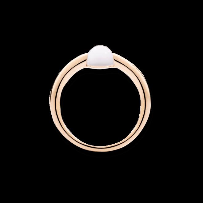 Ring Pomellato M'ama non M'ama aus 750 Roségold mit 1 Mondstein bei Brogle
