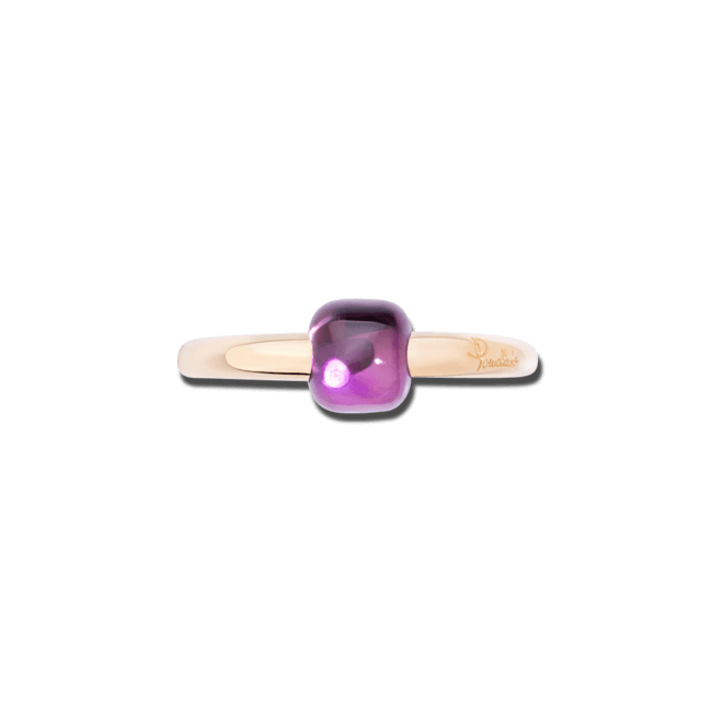 Ring Pomellato M'ama non M'ama aus 750 Roségold mit 1 Amethyst bei Brogle