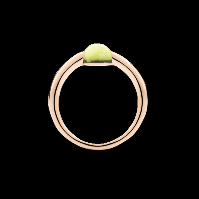 Ring Pomellato M'ama non M'ama aus 750 Roségold mit 1 Peridot bei Brogle