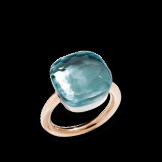 Pomellato Ring Nudo Assoluto Blautopas A.B704MO6/OY