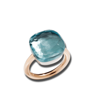Pomellato Ring Nudo Assoluto Blautopas PAB7042-O6000-000OY