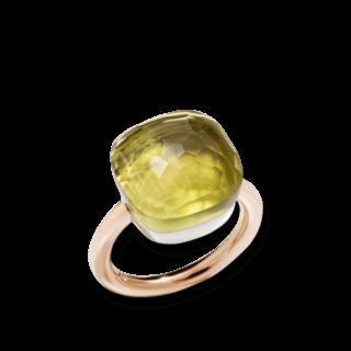 Pomellato Ring Nudo Assoluto Zitronenquarz A.B704MO6/QL