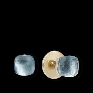 Pomellato Ohrstecker Nudo Blautopas POB6010-O6000-000OY