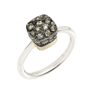 Pomellato Ring Nudo Brown Diamonds A.B501/O6/BR