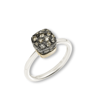 Pomellato Ring Nudo Brown Diamonds PAB5010-O6000-DBR00