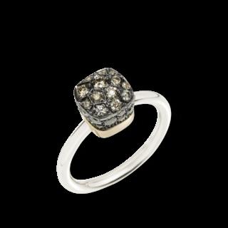 Pomellato Ring Nudo Brown Diamonds PAB5010-O6000-DBR00
