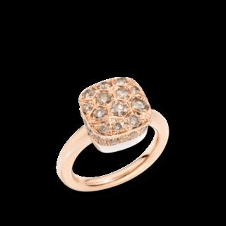 Pomellato Ring Nudo Brown Diamonds PAB7041-O6000-DBR00