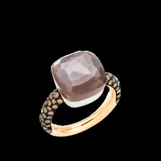 Pomellato Ring Nudo Chocolate Maxi PAB4010-O6BKR-BRADD