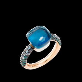 Pomellato Ring Nudo Classic Deep Blue PAB9040-O6000-TTBTL