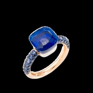 Pomellato Ring Nudo Classic Deep Blue PAB9040-O6000-TTKTL