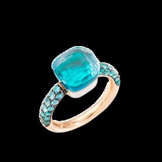 Pomellato Ring Nudo Classic Deep Blue PAB9040-O6000-TTPOY