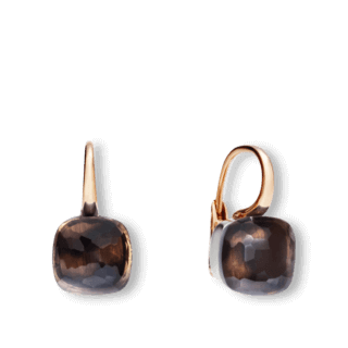 Pomellato Ohrring Nudo Classic Rauchquarz O.A107/O6/QF