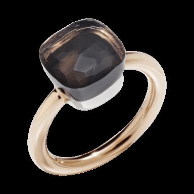Pomellato Ring Nudo Classic Rauchquarz A.A110/O6/QF