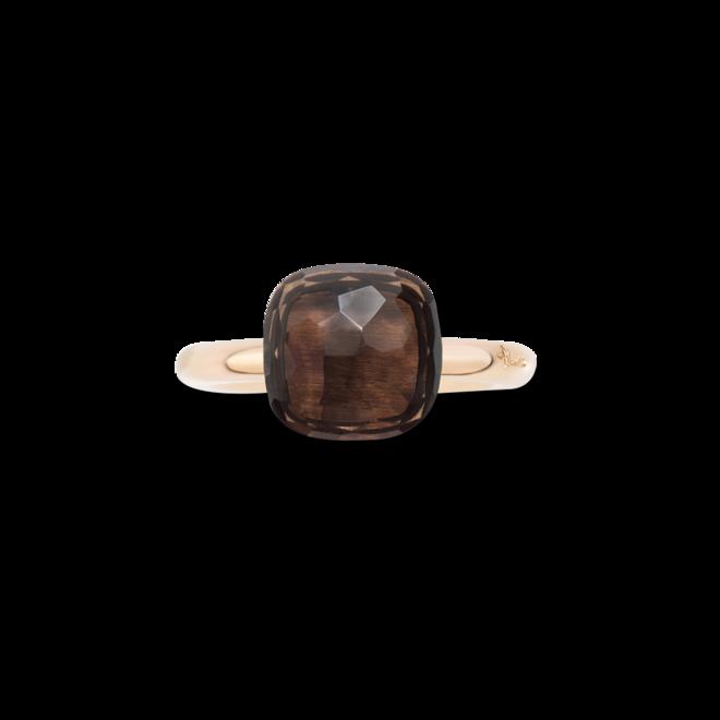 Ring Pomellato Nudo Classic Rauchquarz aus 750 Roségold und 750 Weißgold mit 1 Rauchquarz bei Brogle