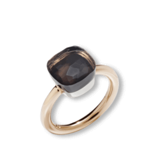 Pomellato Ring Nudo Classic Rauchquarz PAA1100-O6000-000QF