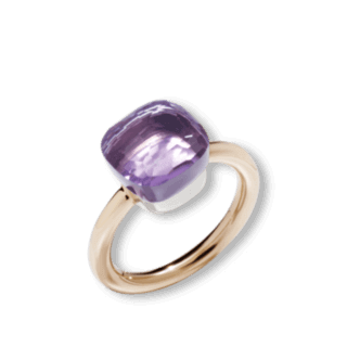 Pomellato Ring Nudo Classic Rose de France Amethyst A.A110/O6/IC