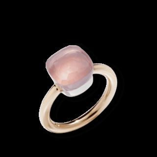 Pomellato Ring Nudo Classic Rosenquarz A.A110/O6/QR