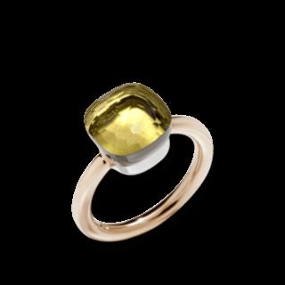 Pomellato Ring Nudo Classic Zitronenquarz PAA1100-O6000-000QL