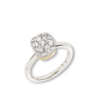 Pomellato Ring Nudo Diamonds A.B501/O6/B9