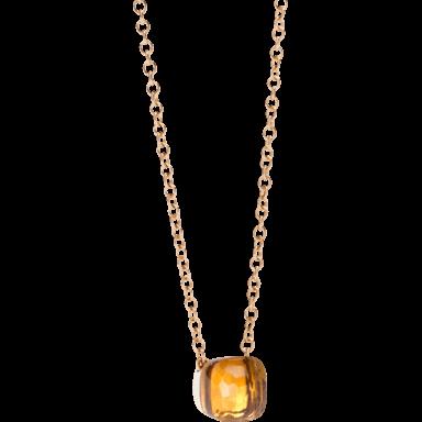Pomellato Halskette mit Anhänger Nudo F.B601/O6/OV
