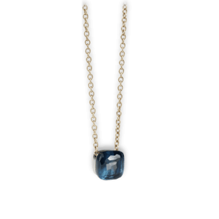 Pomellato Halskette mit Anhänger London Topas groß F.B601GO6/TL/46