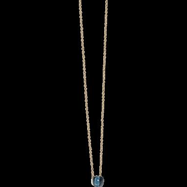 Pomellato Halskette mit Anhänger Nudo London Topas F.B601/O6/TL/46