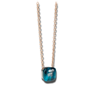 Pomellato Halskette mit Anhänger Nudo London Topas PCB601D-O6000-000TL-42