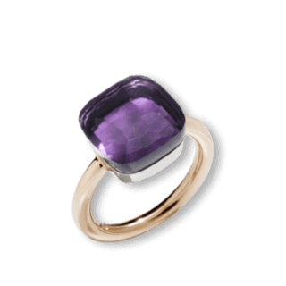Pomellato Ring Nudo Maxi Amethyst PAB2010-O6000-000OI