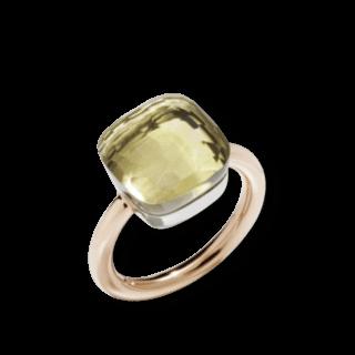 Pomellato Ring Nudo Maxi Zitronenquarz A.B201/O6/QL