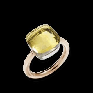 Pomellato Ring Nudo Maxi Zitronenquarz PAB2010-O6000-000QL
