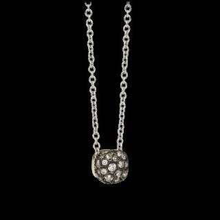 Pomellato Halskette mit Anhänger Nudo mit braunen Brillanten PCB6012-O6000-DBR00-42