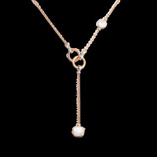 Pomellato Halskette mit Anhänger Nudo mit Diamanten C.B905BO62TBMP53