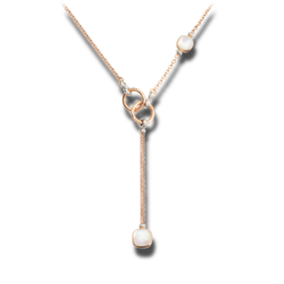 Pomellato Halskette mit Anhänger Nudo mit Diamanten PCB9051-O6000-DB0VA