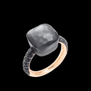 Pomellato Ring Nudo Mondstein mit Brillanten PAB4011-OT000-DBKAD