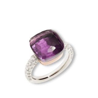 Pomellato Ring Nudo Petit Amethyst A.B401/B9O6OI