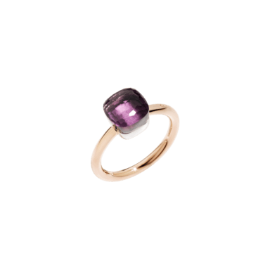 Pomellato Ring Nudo Petit Amethyst A.B403/O6/OI