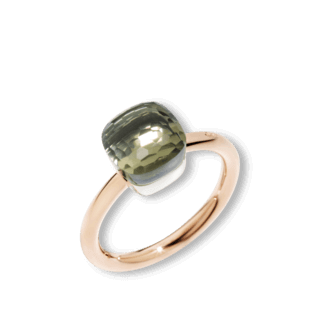 Pomellato Ring Nudo Petit Prasiolith A.B403/O6/PA