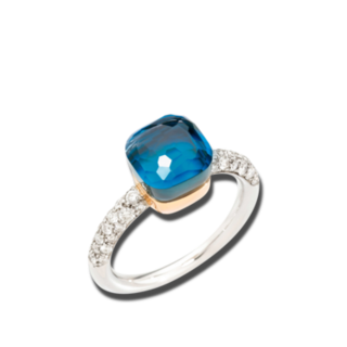 Pomellato Ring Nudo Petit PAB7040-O6WHR-B0TTU