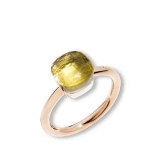 Pomellato Ring Nudo Petit Zitronenquarz A.B403/O6/QL