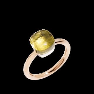 Pomellato Ring Nudo Petit Zitronenquarz PAB4030-O6000-000QL