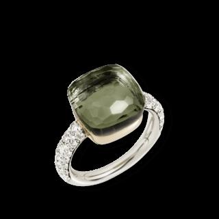 Pomellato Ring Nudo Prasiolith mit Brillanten PAB4010-O6000-DB0PA