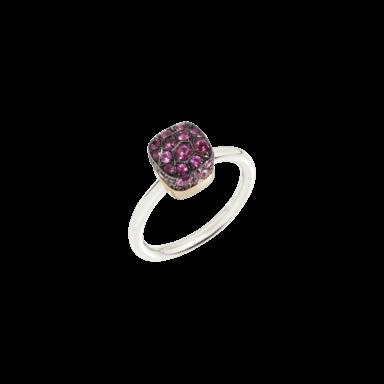 Pomellato Ring Nudo Rubies A.B501/O6/RU